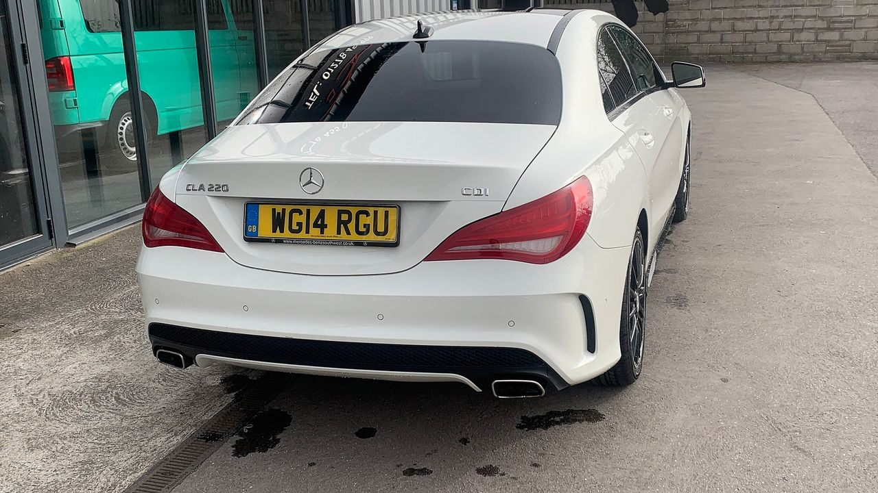 2014 MERCEDES CLA-Class CLA 220 CDI AMG Sport DCT - Picture 5 of 12